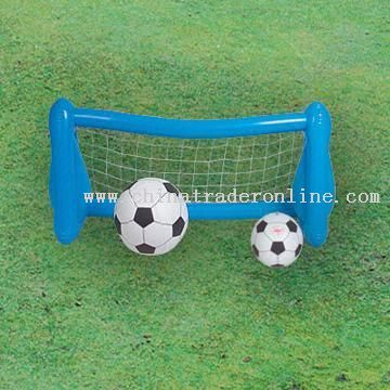 Inflatable PVC Soccer Goal With PVC Thickness of 0.18mm